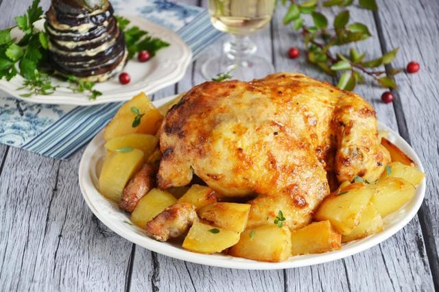 Курица с грибами в духовке — 5 самых вкусных рецептов