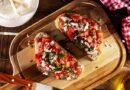 Брускетты с помидорами — 12 рецептов в домашних условиях